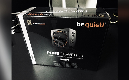 6 - Testers Keepers mit be quiet! Pure Power 11